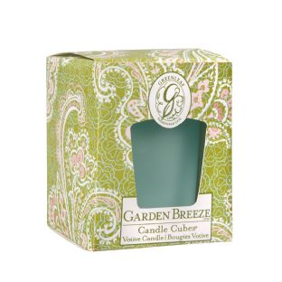 Boxed Votives Garden Breeze